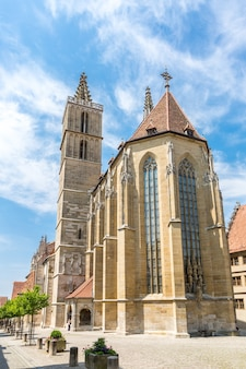 Rothenburg ob der tauber church