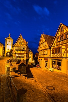 Rothenburg ob der tauber night