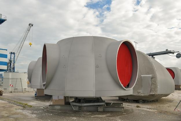 Роторы экологически чистой ветряной турбины на ветряной мельнице