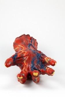 Rotting hand prop