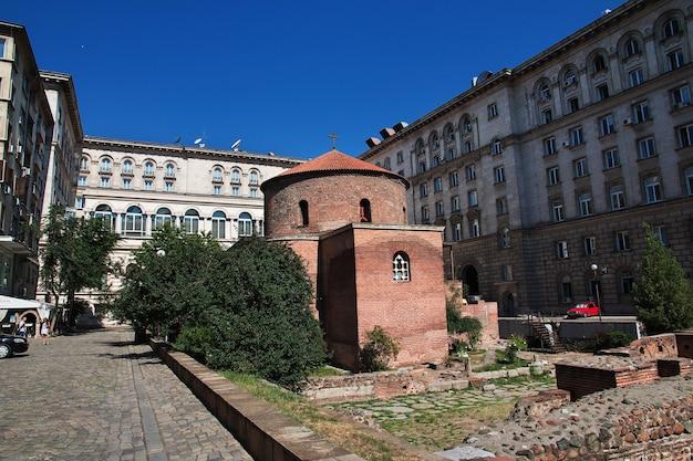 Rotunda church of st george, sofia, bulgaria