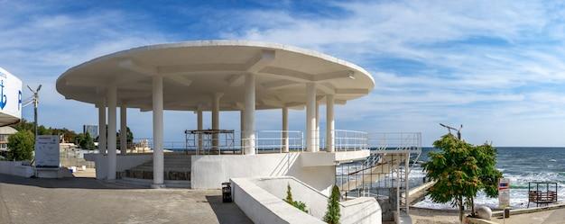 Rotunda in the resort of arcadia in odessa, ukraine