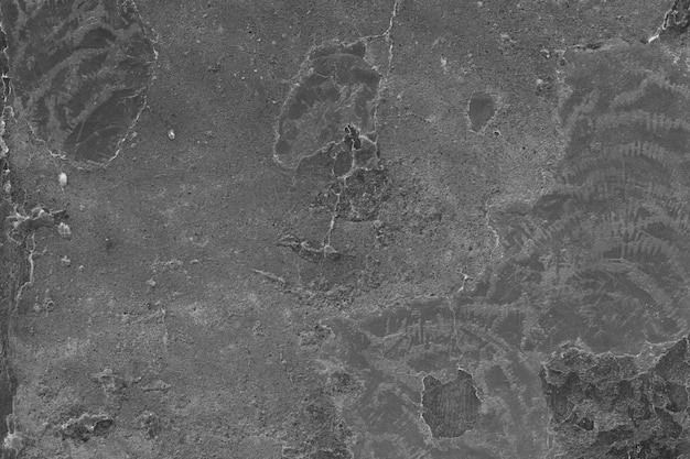 Rough black plaster surface
