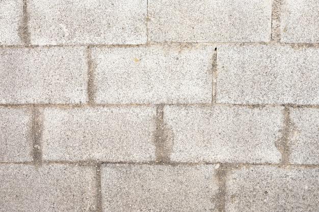 Muro di mattoni grezzi