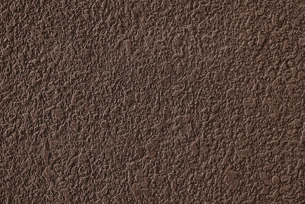 Rough brown cement plastered wall texture