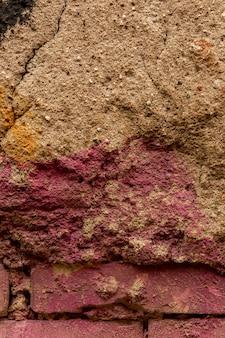 Rough concrete surface with paint