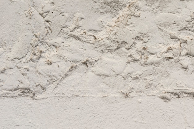Rough concrete surface with plaster