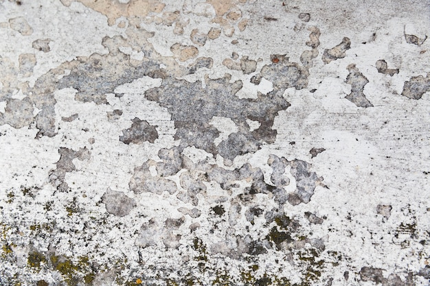 Rough concrete wall surface with aged appearance