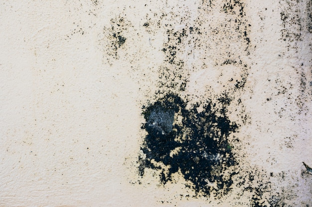 Rough concrete wall with stain