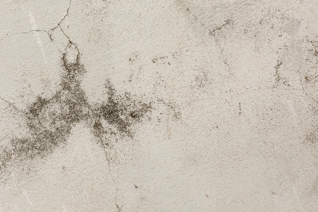 Rough and cracked concrete surface