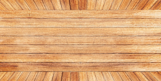 긴 갈색 나무 벽의 거친 질감