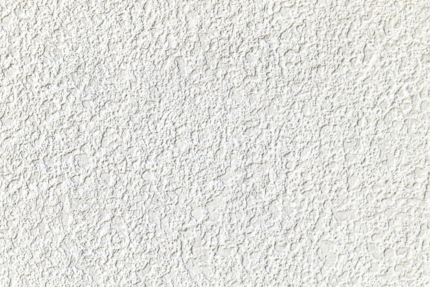 Rough white cement plastered wall texture