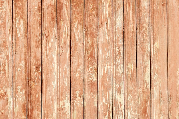Rough wood natural texture. grunge vintage wooden planking vertical background. rustic barn brown outdoors wall. textured timber decking. top view of retro floor, view from above or overhead