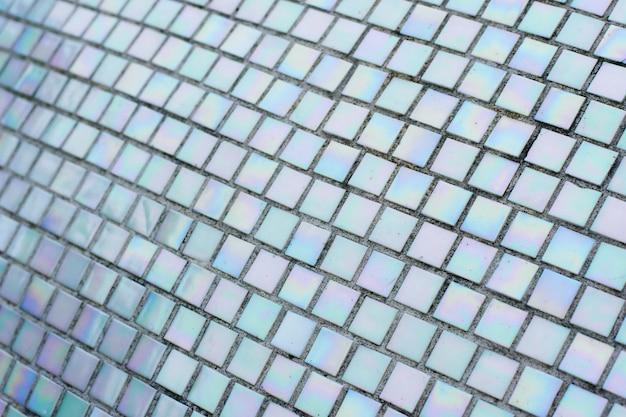 Шероховатая плитка мозаичная стена