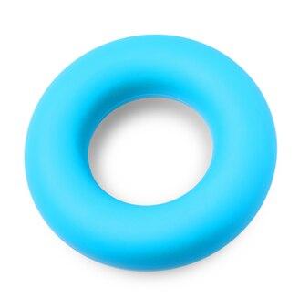 Круглый синий кистевой эспандер