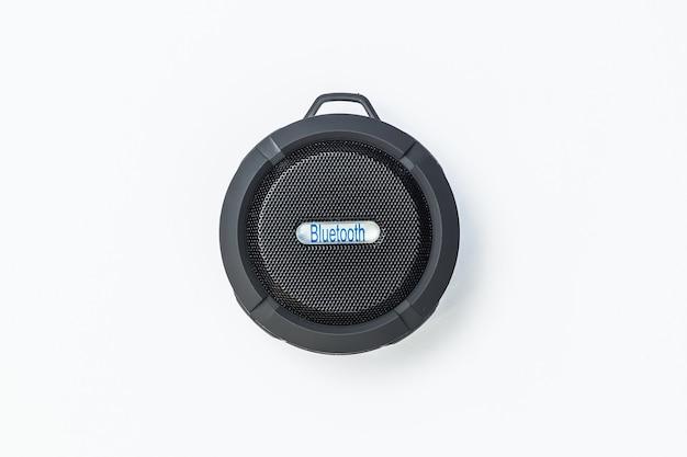 Круглый bluetooth-динамик черный