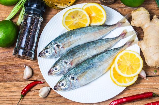 Round scad fish