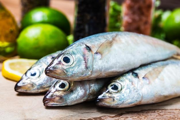 Round scad fish Free Photo