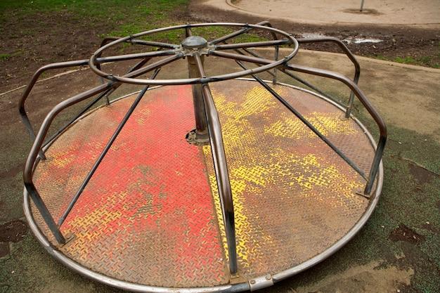 Roundabout in garden