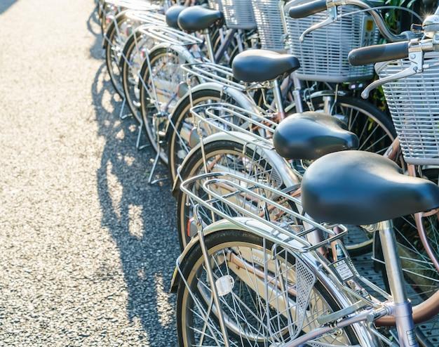 Riga di parcheggio bici