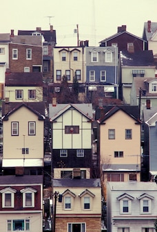 Row houses, pittsburgh, pennsylvania