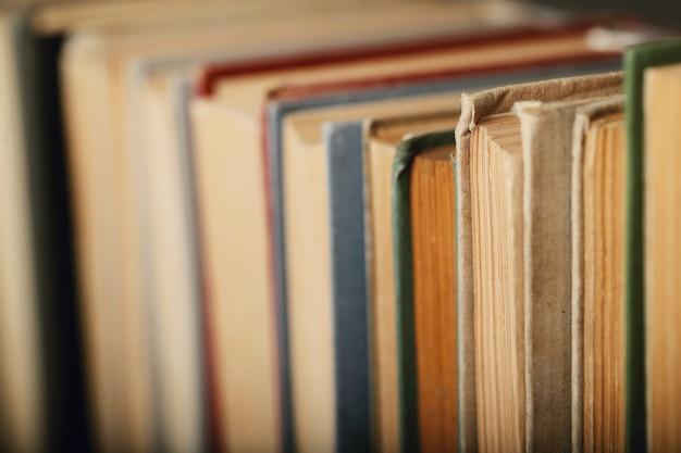 本の列、文学の概念