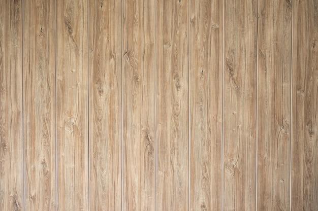縞模様の茶色の木の板の壁のテクスチャの行