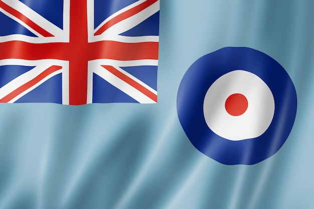 Royal air force ensign, uk