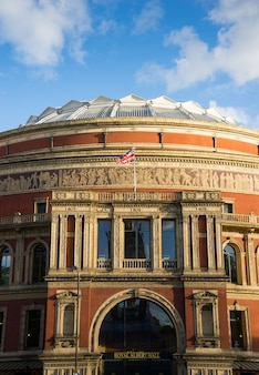 Royal albert hall theatre in london, england