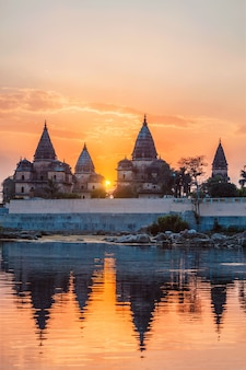 Orchha madhya pradesh india의 왕실 기념비