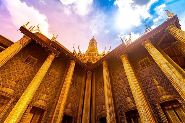 Royal grand king palace in bangkok thailand beautiful landmark of asia architecture golden