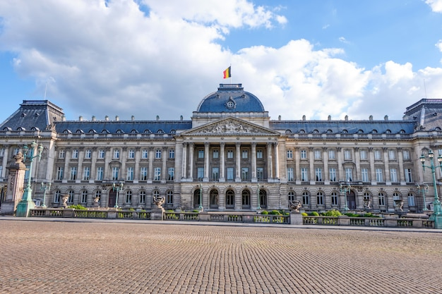 Royal palace of brussels in belgium