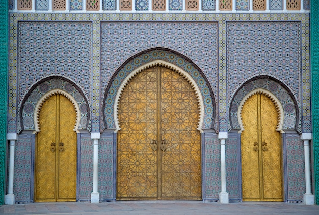 Royal palace in fez, morocco