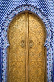 Королевский дворец в фесе, марокко