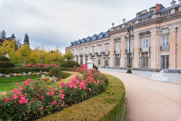 Royal palace la granja de san ildefonso, segovia, spain.