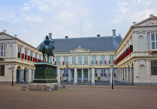 Royal palace of the netherlands in the hague