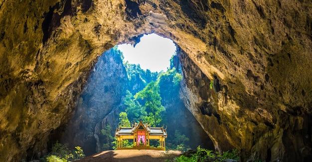 Royal pavilion in phraya nakorn cave in thailand
