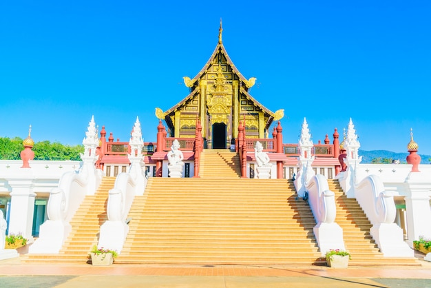 Royal pavillion at chaing mai