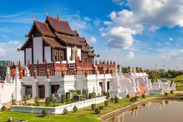 Royal ratchaphruek park in chiang mai, thailand