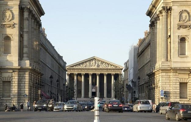 Royalパリフランスアーキテクチャマドレーヌ通り