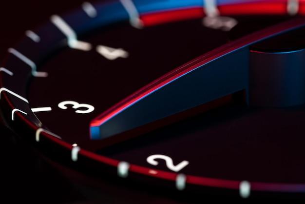 Обороты автомобиля одометр детализируют символ мощности и скорости