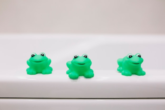 입욕 용 고무 개구리
