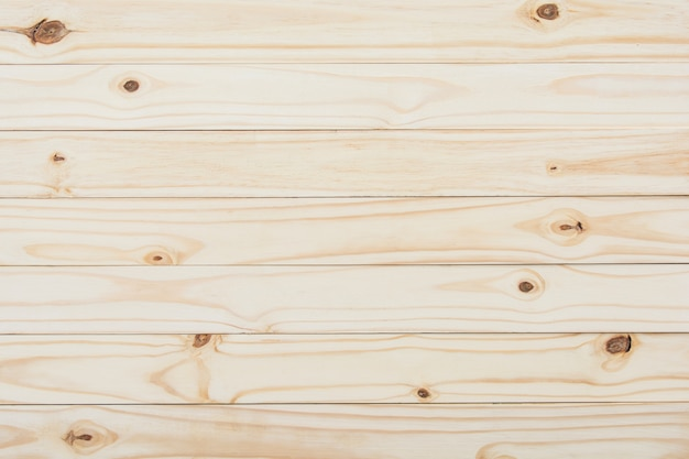 Rubberwood or parawood plank texture background with copy space. wood panels, empty templa