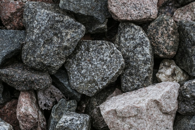 Rubble texture natural abstract background