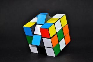 Rubiks cube , puzzle