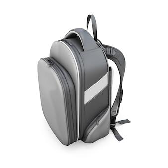 Рюкзак, изолированные на белом фоне. 3d визуализация изображения.