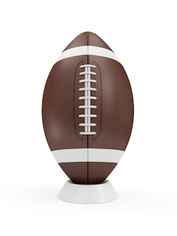 Rugby ball isolated