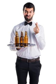 Ruined waiter