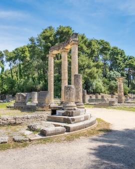 オリンピアの遺跡