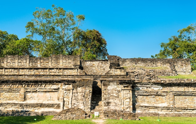 Ruins at the el tajin archeological site, unesco world heritage in mexico